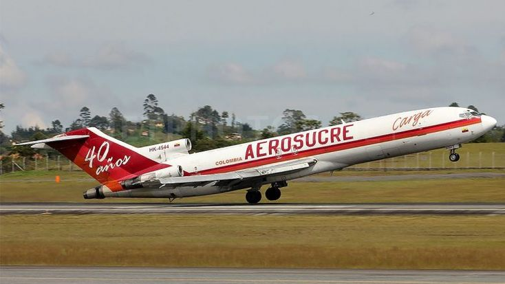 Aerosucre 727 crash probe missing aircraft weight data
