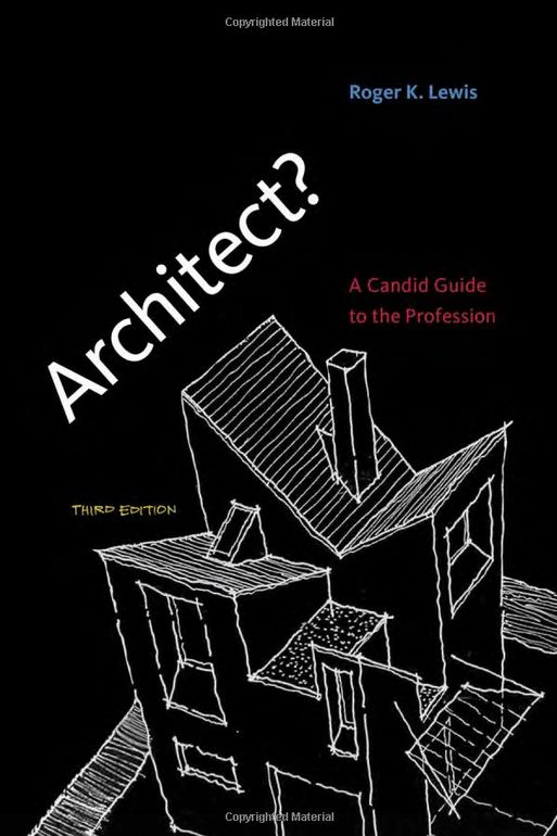 This is the greatest handbook for anyone pursuing a career in the architecture profession. If you haven't read this book, I couldn't recommend it enough. This book warned me about a lot of the pitfalls that take out a lot of people in becoming an architect.