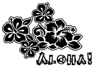 Hibiscus Flower Clip Art