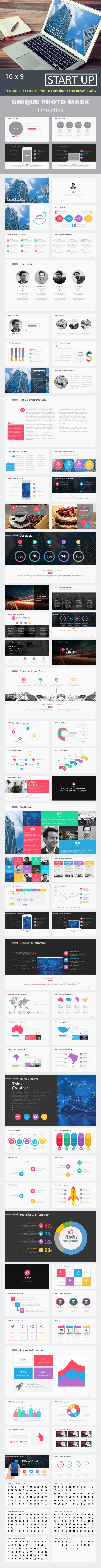 Start Up PowerPoint Template. Download here: http://graphicriver.net/item/start-up-powerpoint-template/16429069?ref=ksioks