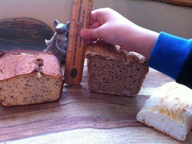 Faire son propre pain sans gluten, sans lactose, sans oeuf en 8minutes!  Alimentation détox et gourmande