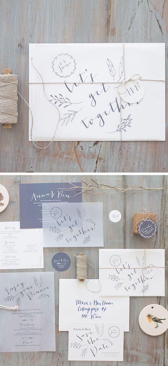 """#Hochzeitseinladungen """"that boho vibe"""", online bestellbar bei www.papierhimmel.com  #federn #feathers #weddinginvitation, online #hochzeit"""