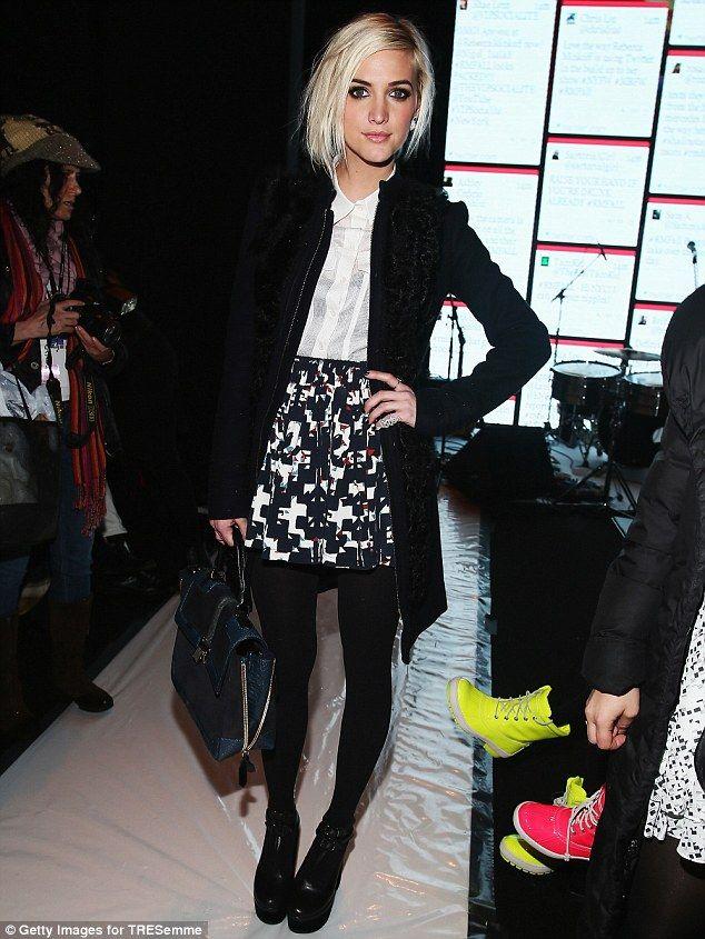New York Fashion Week's Spotlight Stealer: Ashlee Simpson