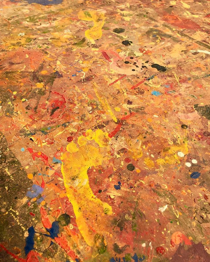 "41 Likes, 1 Comments - Aboriginal Signature Estrangin (@aboriginal_signature_gallery) on Instagram: ""Just the footprint of children who used to play into the paintings covering the ground. Symbol of…"""