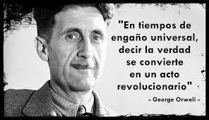 George Orwell, primer personaje misterioso del Trivial Literario (Diciembre, Mes de la Ciencia Ficción)