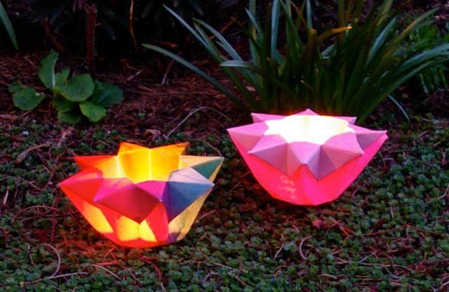 Paper Crafts : DIY Paper Star Lantern Tutorial