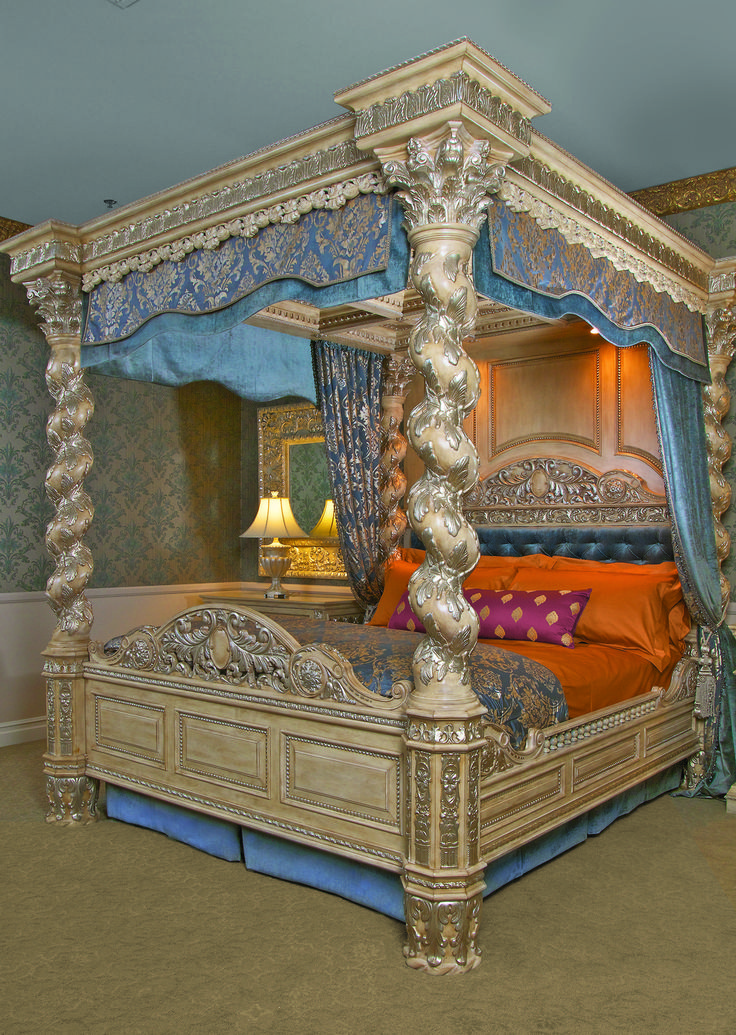 the renaissance canopy bed eastern king