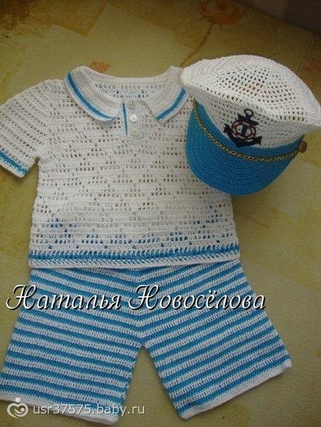 Вязание для новорожденных. схемы крючком