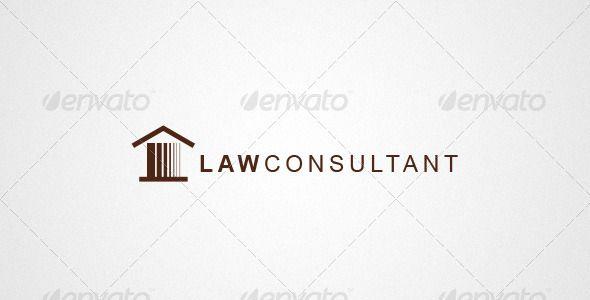 Attorney U0026 Law Logo