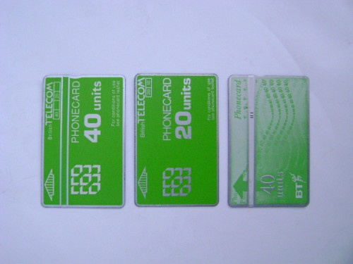 BT Phonecards.