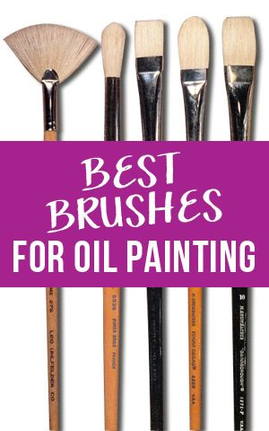 Choosing brushes can seem overwhelming because there are so many choices so we've put together this primer on how to get the best oil painting brushes.