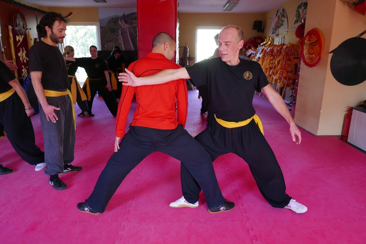 Learn Meihua Quan and longevity exercises with Shifu Shi Yan Jun in Shaolin Temple. kungfushaolins.com