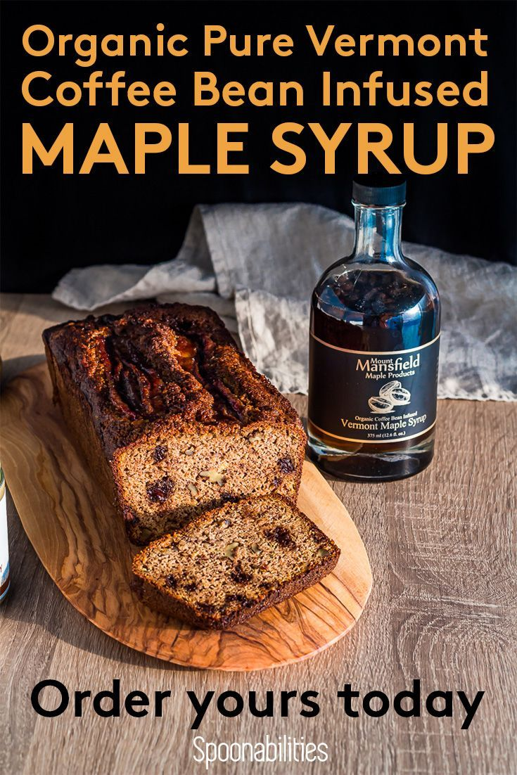 Organic Coffee Bean Infused Vermont Maple Syrup In 2020 Organic Coffee Beans Gourmet Food Plating Gourmet Recipes