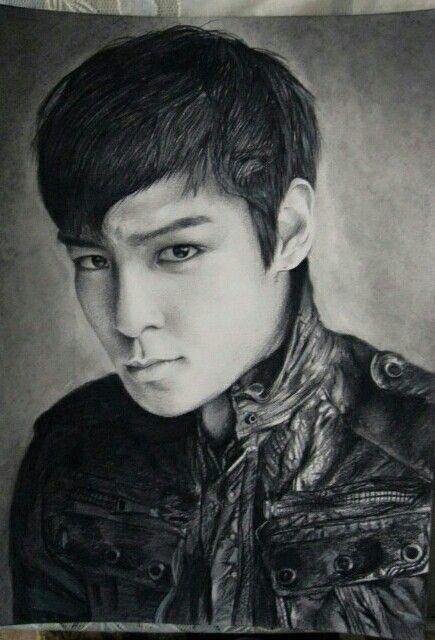 TOP Sketch kpop fanart kpopfanart K pop Fanarts