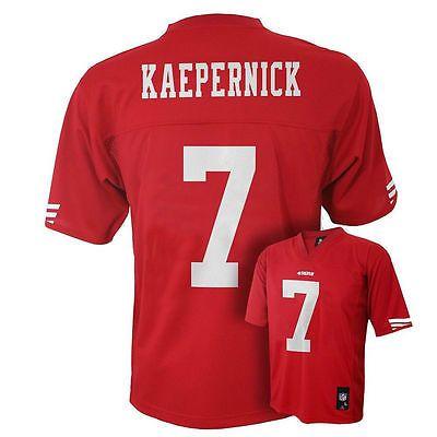 NFL Apparel San Franciso 49ers Colin Kaepernick #7 Football Jersey Youth L 14/16