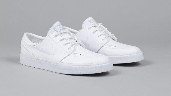 Nike SB Stefan Janoski - White/White Via: Tenisufki.eu