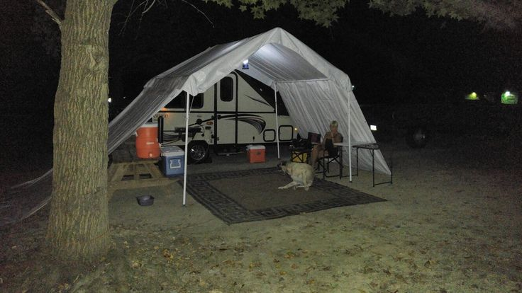 Travel Trailers With Rear Kitchen Pfister Pasadena Faucet A Frame Camper Tent Awning | Accessories For Aliners ...
