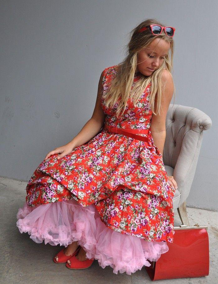 Retro, rockabilly dress. www.landromantikk.no
