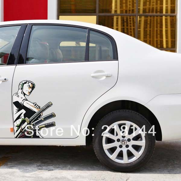 Find More Stickers Information About New Cartoon Car Styling - Car anime stickers