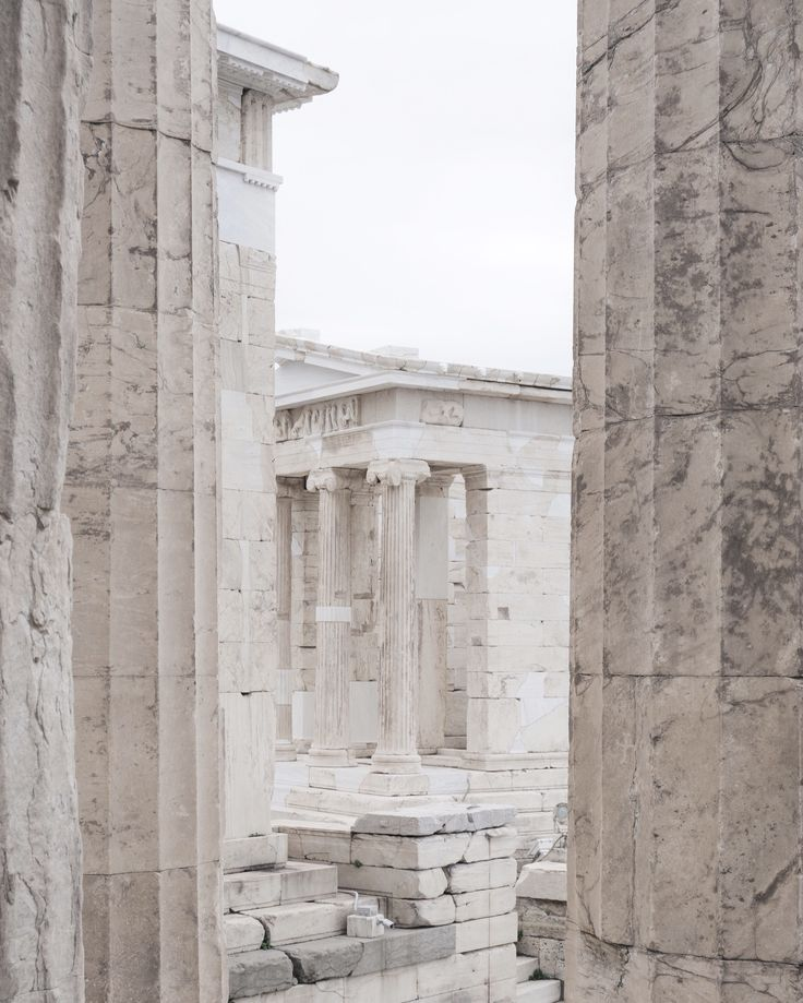 Acropolis in Athens, Greece by Minorstep