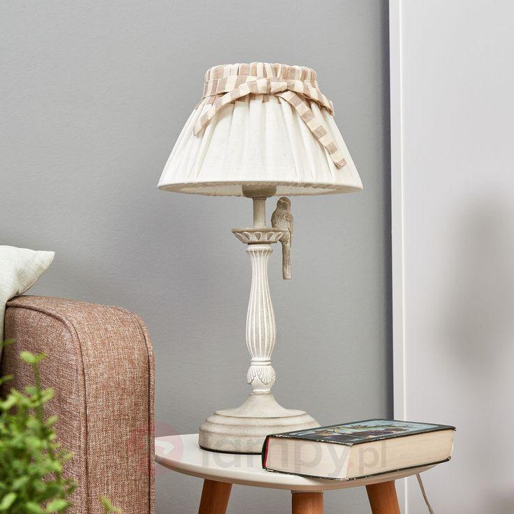 Lampa stołowa Bird z ręcznie wykonanym ptakiem 6727039
