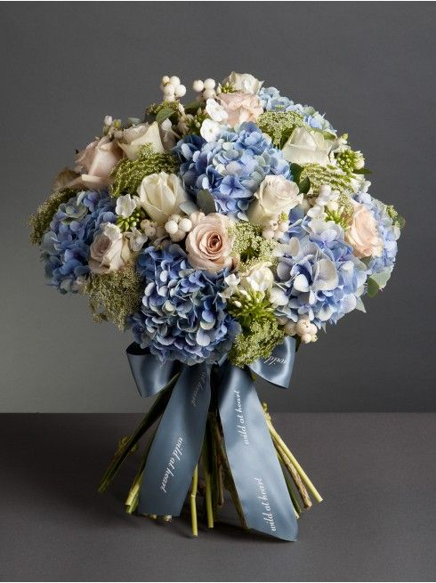Cloudy Skies Bouquet. im kinda in love with these colors for a classic elegant wedding. less blue and more pink and it would be perfect