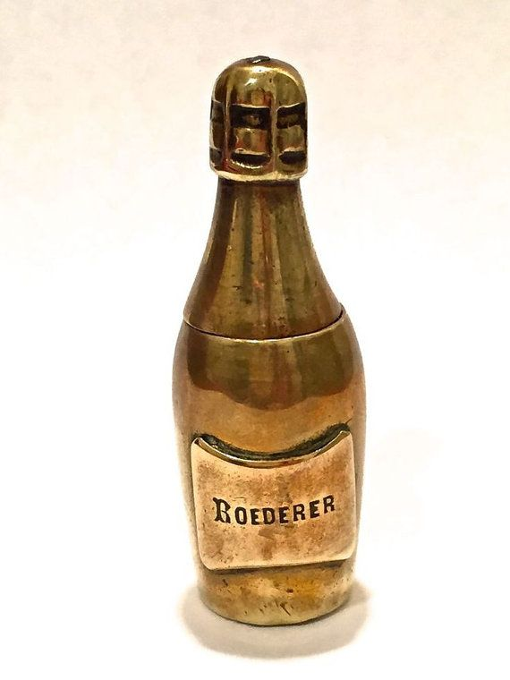 RARE Antique 1800's Collectible Brass Roederer by justvintage4u