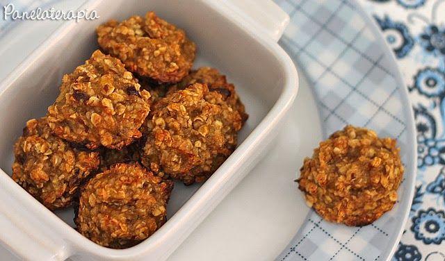 Cookies Saudáveis de Banana e Aveia - Não ficam crocantes como as cookies habituais
