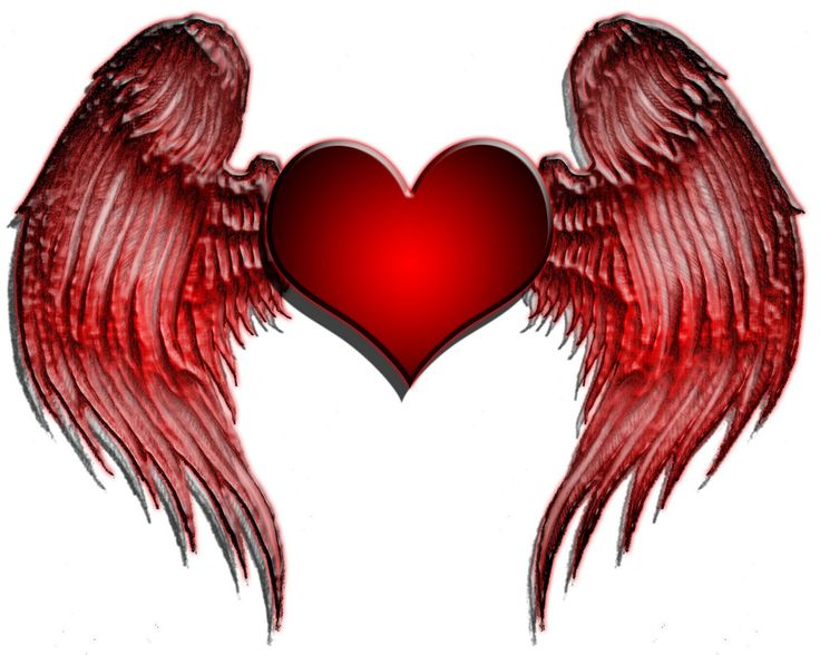 39 best Heart Shaped Wing Tattoos images on Pinterest ...