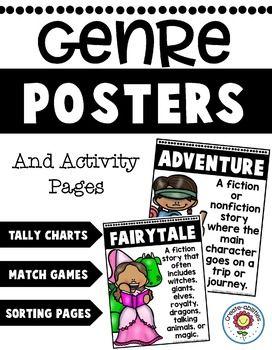 Genreposter und Aktivitätsseiten BEARBEITBAR – Brookfield School Middle School Campus