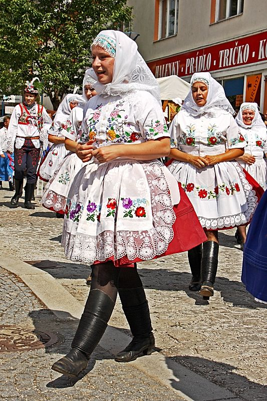 Kyjovský kroj jižní morava - costumes South Moravia, Czech republic