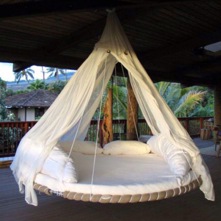 Das hängende Bett was ich meinte :)                                                                                                                                                                                 Mehr