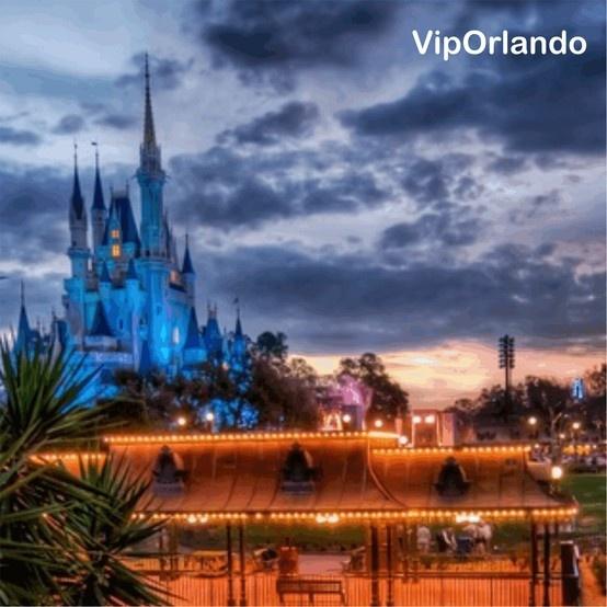 Walt Disney´s Thematic Park / Parque Temático de Walt Disney  Vacaciones familiares en #Orlando Sunset