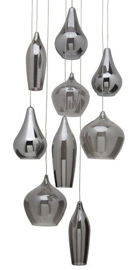 Nuevo Living Emma Pendant Lamp in Smoked Grey | $846.00