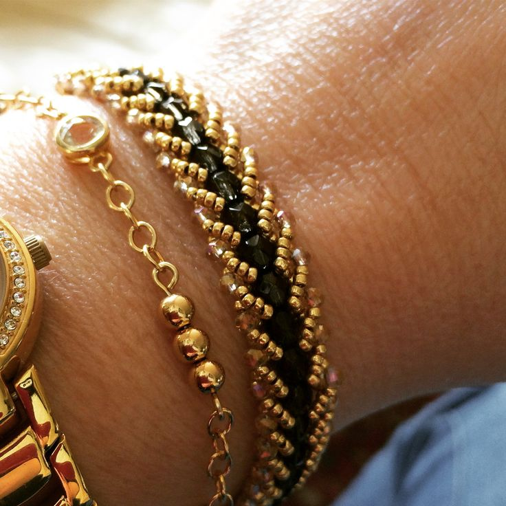 Stack your bracelets! 🌟  Stop and Wear Jewelry bracelets 🌟