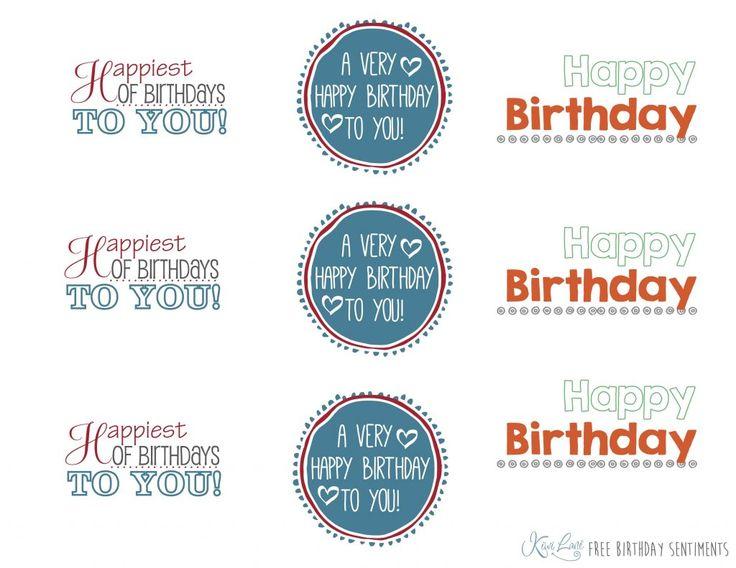Free Birthday Greeting Printable | Kiwi Lane