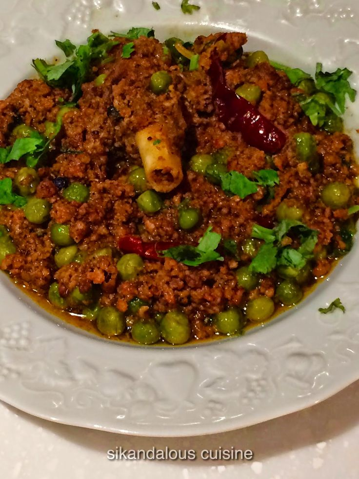 26 best lamb mania images on pinterest cooking food indian sikandalous cuisine keema muttar lamb recipescurry forumfinder Gallery