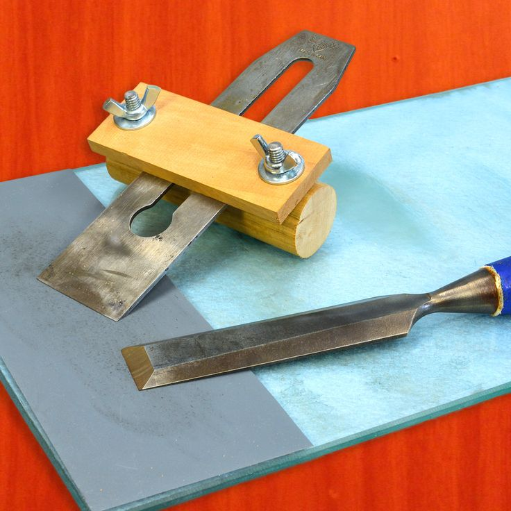 How to Sharpen Chisels & Wood Plane Blades.