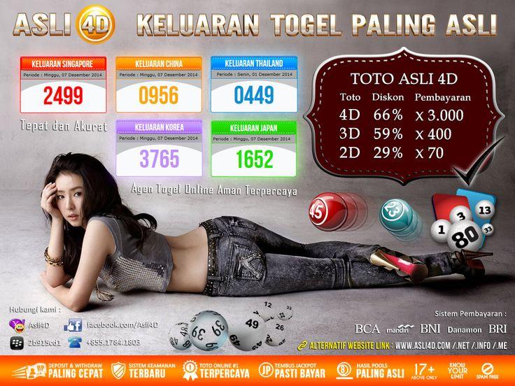 Asli4D Agen Togel Sgp 4D