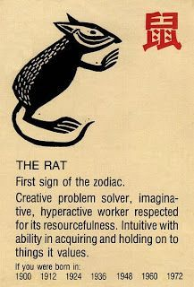 The Chinese Astrology: The Chinese Zodiac Signs: The Rat