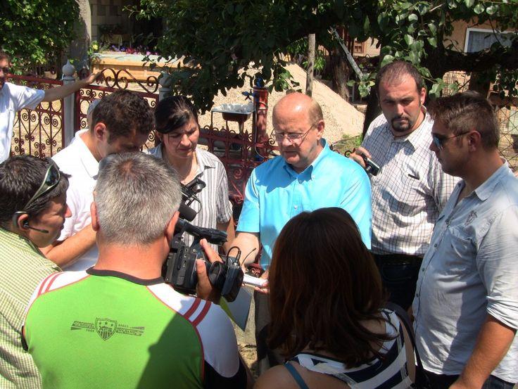 Conferinţă de presă în comuna Priboieni județul ARGEȘ