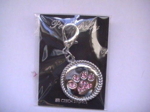 Dog charms for collar(pink)