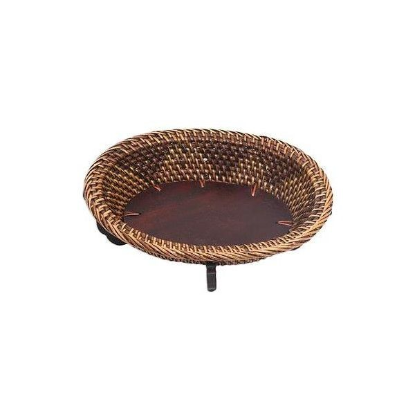 NOVICA Artisan Crafted Natural Fiber Wood Balinese Decorative Tray ($20) ❤ liked on Polyvore featuring home, home decor, small item storage, brown, catchalls and trays, decor accessories, wood home decor, wooden tray, novica and decorative wood trays