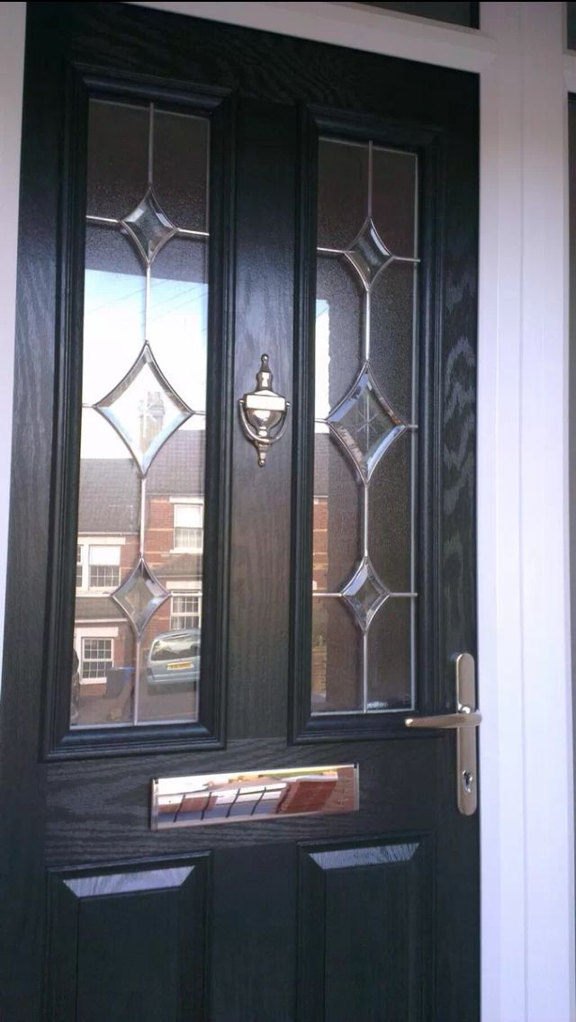 Black UPVC front door https://upvcfabricatorsindelhi.wordpress.com/