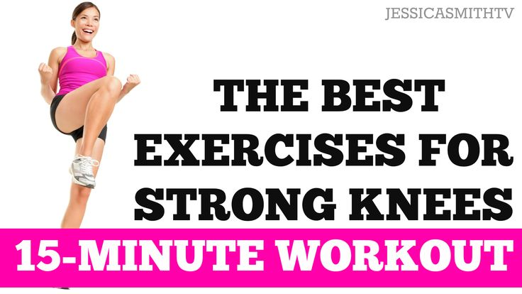 Help protect and strengthen weak knees with this 15-minute routine!