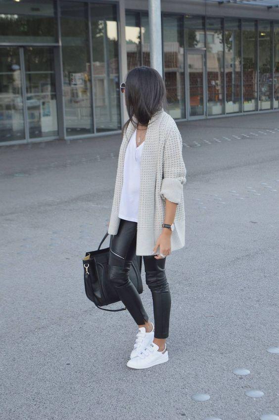 Δερμάτινο παντελόνι: 6 τρόποι για να το φορέσεις σωστά και φθινοπωρινά - JoyTV