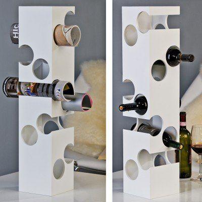 Exkluzívny drevený stojan na víno 10 fliaš