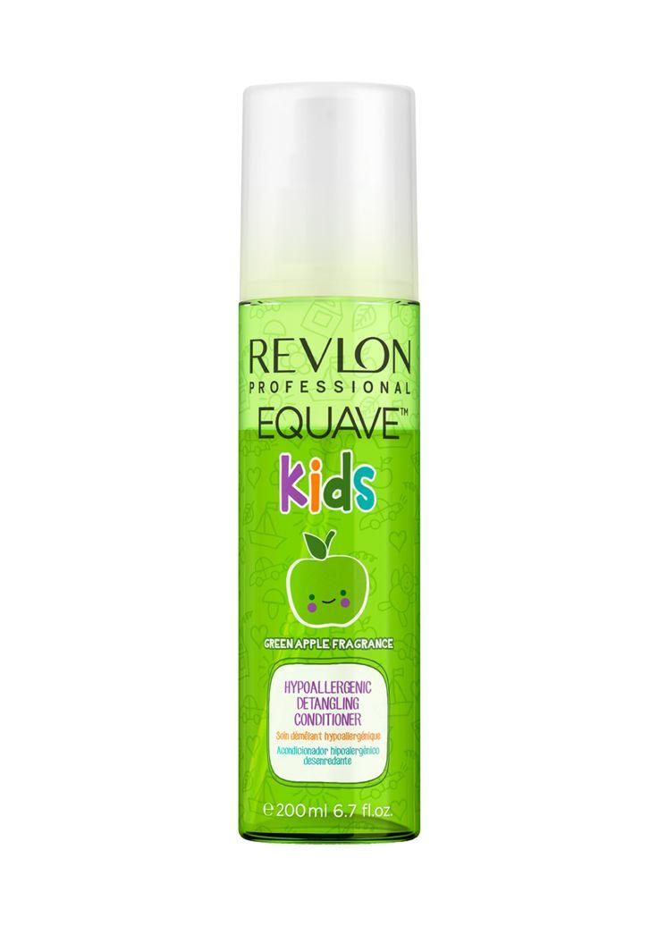 Revlon Professional Equave Kids Hypoallergenic Detangling Conditioner Green Apple Fragrance 200ml.