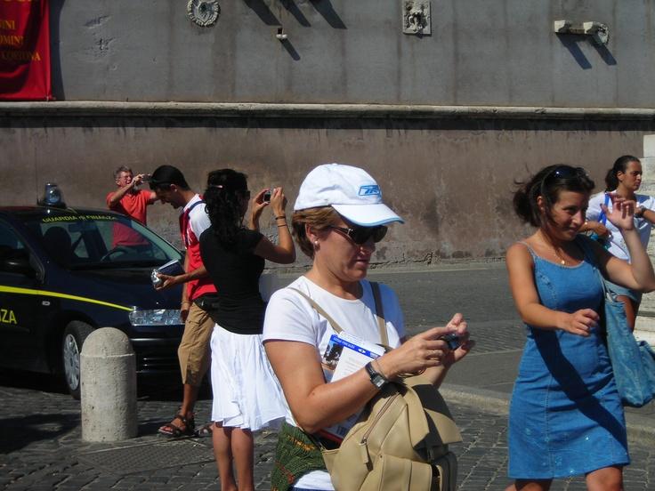 W poszukiwaniu straconego czasu. W Rzymie. Fot. Ramona Słobodzian