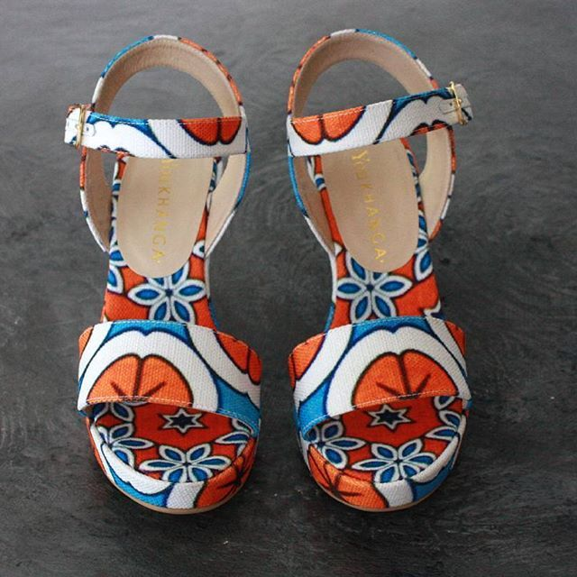 Let yourself be enchanted by an explosion of colorful flowers..live your Spring/Summer with @you_khanga ! This sandals are the perfect combination between the African materials and traditions with the experience and excellence of Italian footwear craftsmanship.  Shop at http://finaest.com/designers/you-khanga/orange-white-azure-canvas-wedge-sandals #finaest #worldwide #worldwideshipping #shoppingonline #onlineshop #madeinitaly #handmade #handcraft #youkhanga #sandals #womensandals…